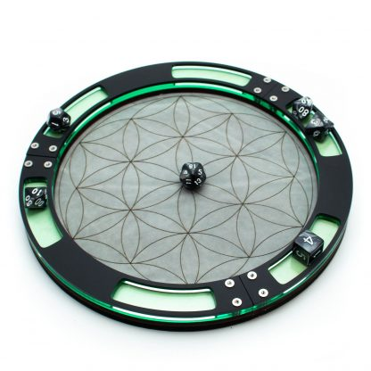 Flower of Life Dice Tray