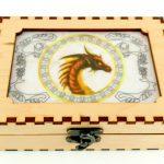 Color Printed Dragon