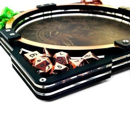 Party Tray Steampunk Leather