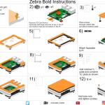 Zebra Bold Case – Raspberry Pi 3 B+