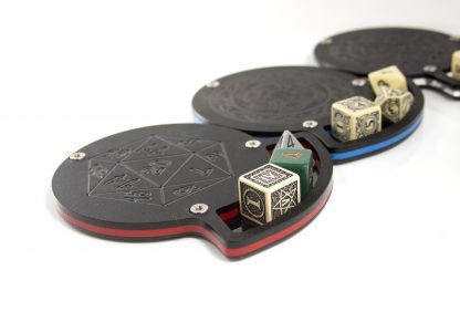 Acrylic Dice Coasters