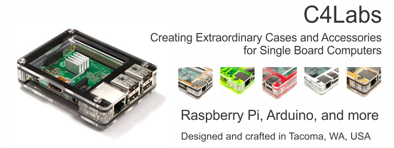 Zebra Classic Case for the Raspberry Pi