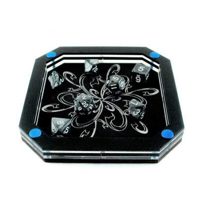 Frost Bloom Silverline Dice Tray