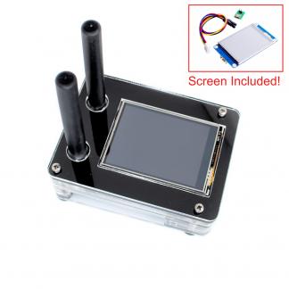 DRPi-1NSX case for Raspberry Pi 3 B+, Duplex MMDVM v1.0, 2.4″ Enhanced Nextion Screen
