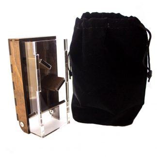 Draw Bridge Dice Tower with travel bag