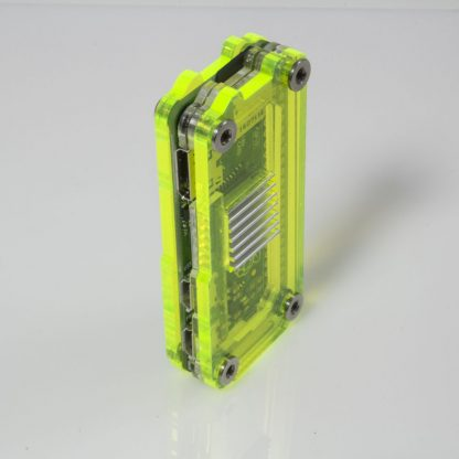 Zebra Zero Heatsink in Laser Lime