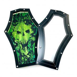 green coffin