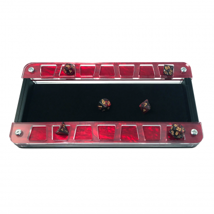 Symphony Red Dice Tray