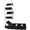 dice tower velvet black